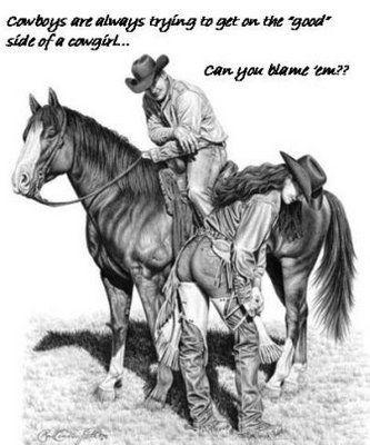 a cowgirls goodside