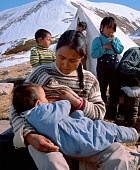 Inuit women contain much pollution in their breastmilk. It comes from the industrialised countries.