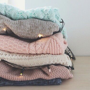 neutral + pastel sweaters