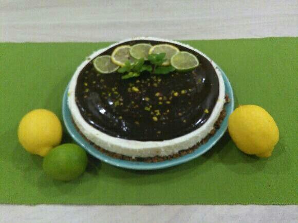 Tarte de limão com chocolate - a melhor tarte do mundo