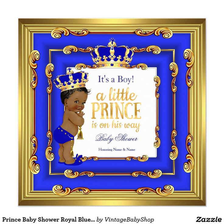 78 best images about blue gold prince baby shower invitations on, Baby shower invitations
