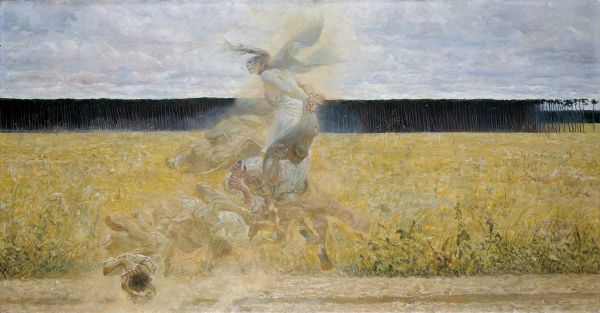 W tumanie - Jacek Malczewski
