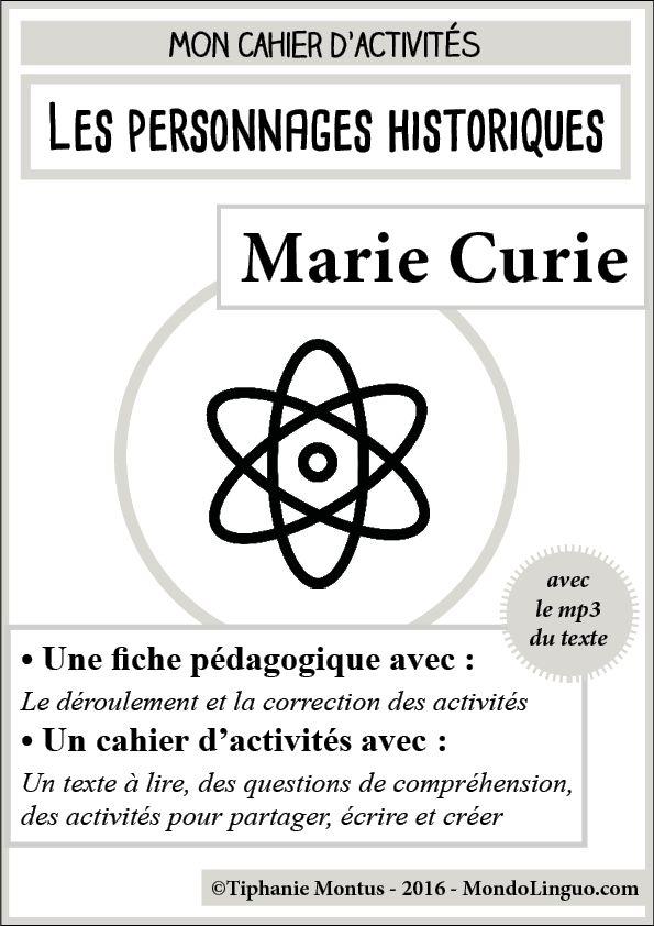 Marie Curie | Mondolinguo - Français