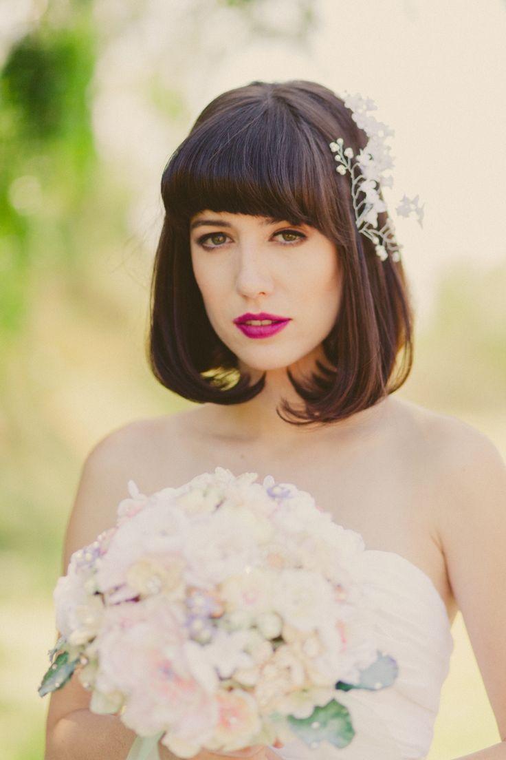 best 25+ wedding hair bobs ideas only on pinterest | half up half