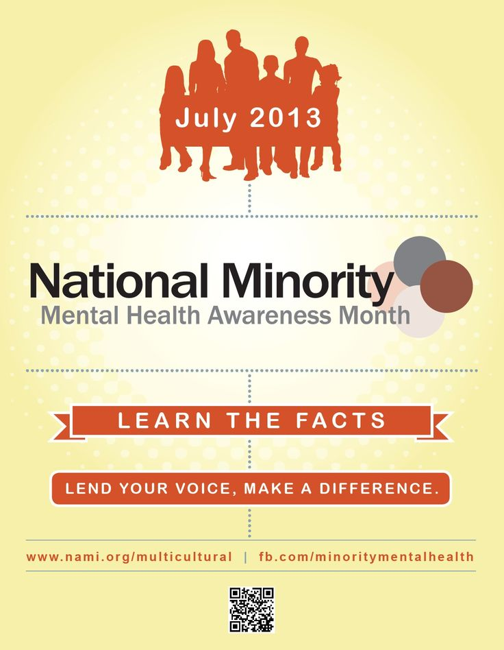 Link to full page poster DBHDS National Minority Mental