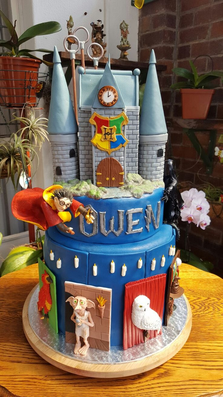 17+ best ideas about Harry Potter Cakes on Pinterest ...