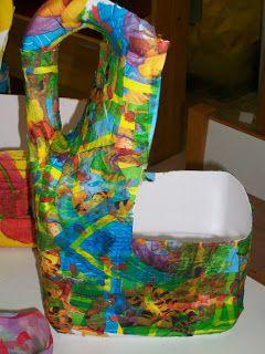 ΝΗΠΙΑΓΩΓΟΣ ΑΠΟ ...ΧΟΜΠΥ: Πασχαλινό καλάθι 2012