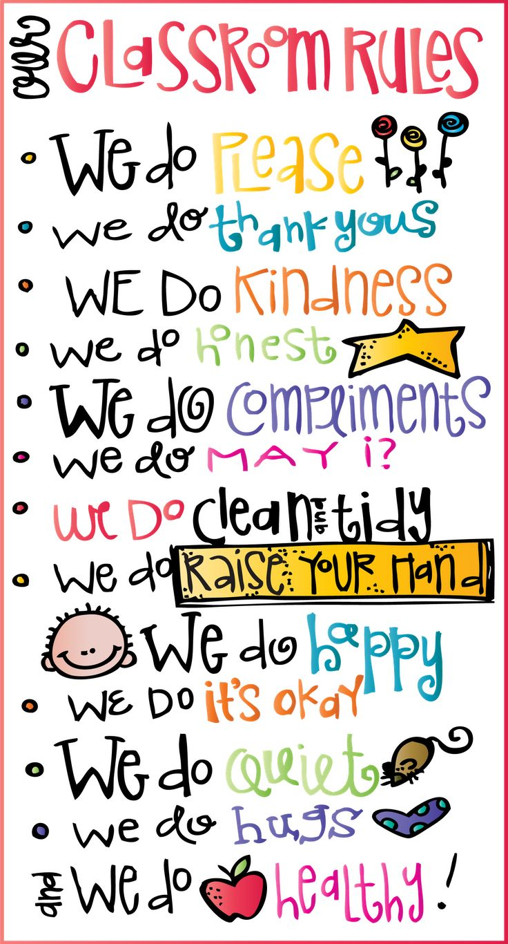 adore these classroom rules.