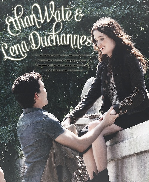 """""""I never loved you any more than I do, right this second. And I'll never love you any less than I do, right this second.""""― Ethan Wate, Beautiful Creatures;"""