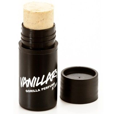 Lush Vanilla perfume stick. This gorgeous scent lasts all day and does actually smell like a warm hug ... I love this!