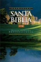 NVI Santa Biblia: Nueva Version Internacional, rustica, palabras de Jesus en rojo [Paperback]