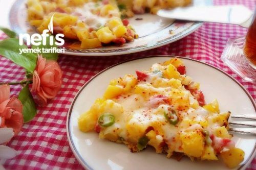 Kahvaltılık Patates Kavurması Tarifi