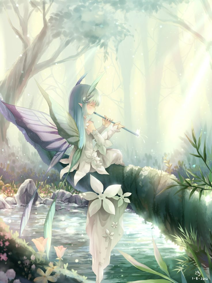 Flute faerie