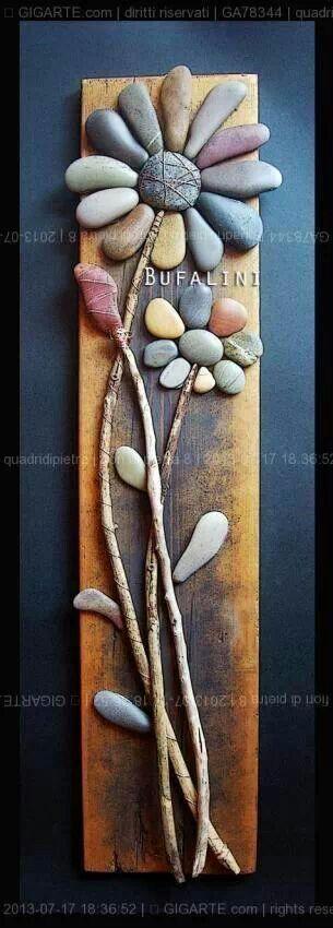 Collecting unique rocks :)