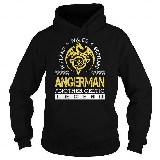 I Love ANGERMAN Legend - ANGERMAN Last Name, Surname T-Shirt T shirts