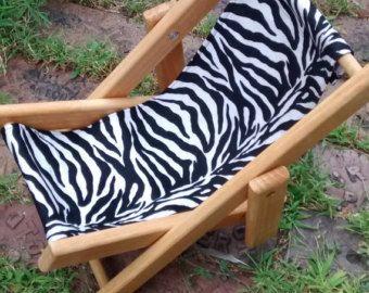 Chaise longue bois correspond à American par karenscornerdollshop