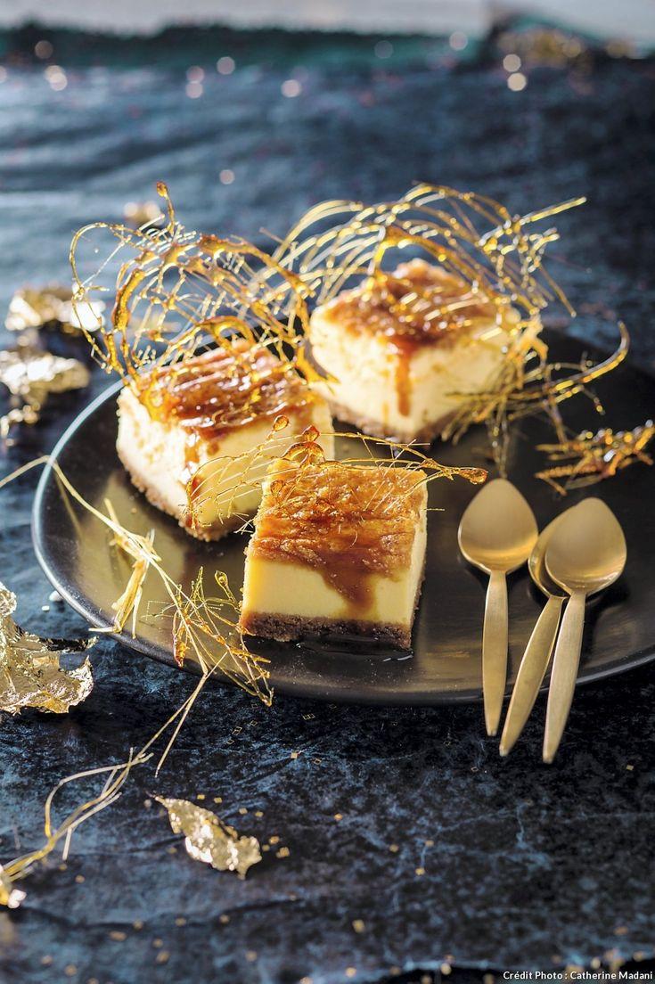 Cheesecake aux spéculoos - Une recette de cheesecake aux spéculoos pour terminer votre repas de fête en beauté, et changer de l'habituelle bûche aux marrons !