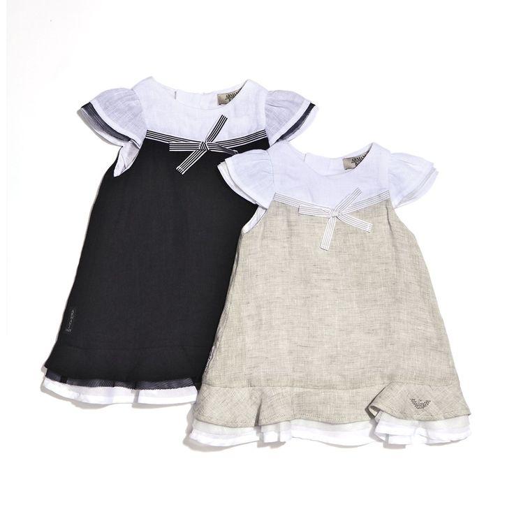 ARMANI | Linen dress | TheMiniBag