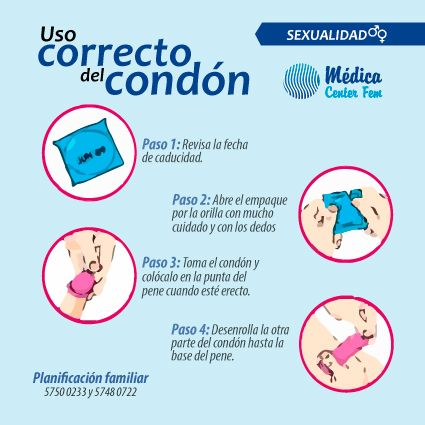 Condón masculino de látex. Uso correcto del condón. Es económico, cómodo, seguro y eficaz. ¡Úsalo en todas tus relaciones! ¡Protégete! #condon #preservativo #condón #salud http://www.medicacenterfem.com/metodos-anticonceptivos/condones-preservativos/
