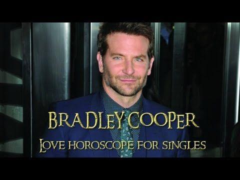 Bradley Cooper Love horoscope for singles