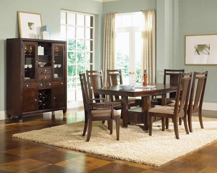Broyhill Affinity Dining Room Set Broyhill Furniture  Northern Lights 6 Puece Dining Room Set