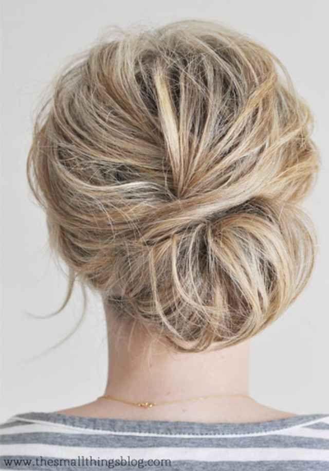 Remarkable 1000 Ideas About Short Hair Buns On Pinterest Shorter Hair Short Hairstyles Gunalazisus