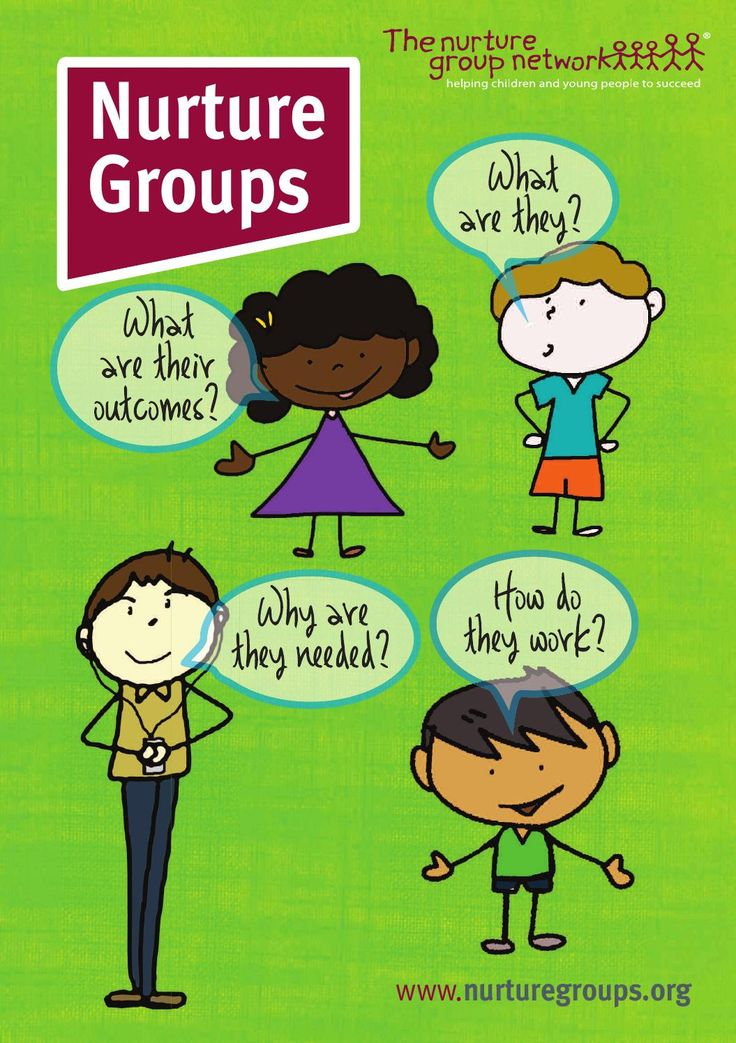 What is a nurture group?  Our new leaflet to tell you all about what nurture groups are, what they do, why they are needed and more.