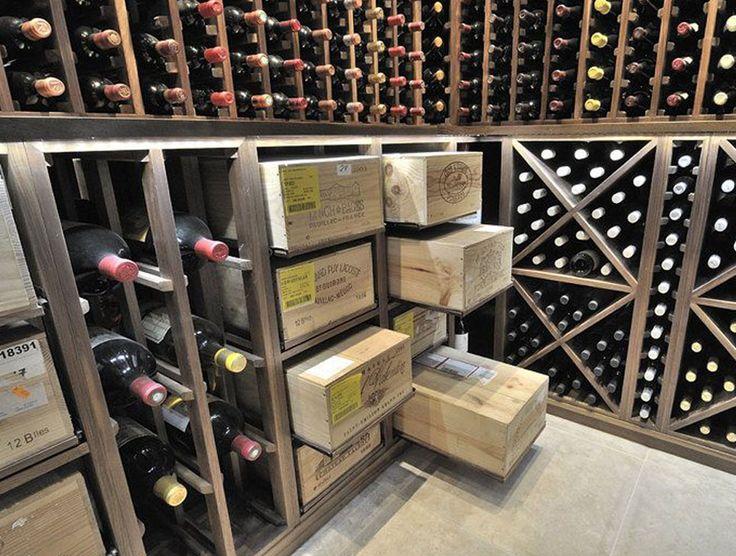 Weinregal aus weinkisten  95 besten Weinregale Bilder auf Pinterest   Flaschen, Weinflaschen ...