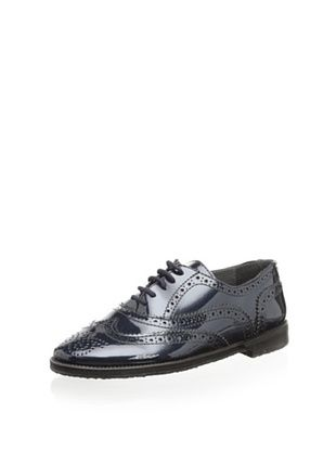 57% OFF Eli 1957 Kid's Glossy Lace-up Wingtip (Met. Prats Azul)