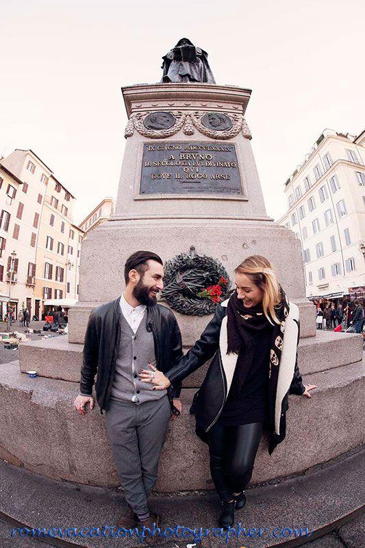 #Campo de' Fiori #Rome #vacation #photographer #wedding #proposal #photography #tour #romantic #honeymoon
