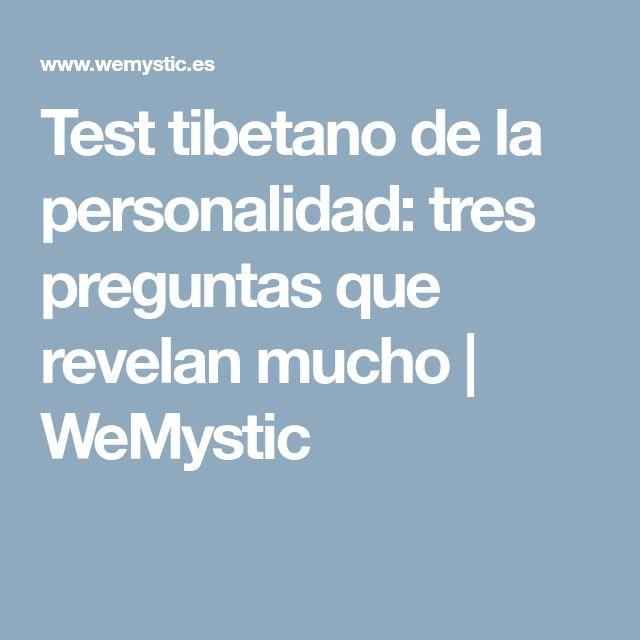 Test tibetano de la personalidad: tres preguntas que revelan mucho | WeMystic