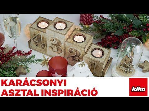 Inspiráció karácsonyi asztalterítéshez | Kika Magyarország - YouTube