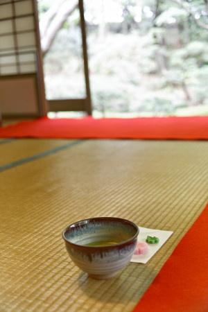 Tea House in Kyoto, Japan|旧古河庭園 茶室