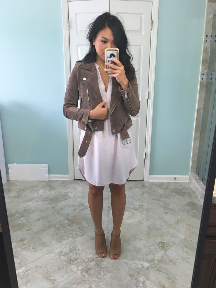 #nsale reviews. BLANKNYC Suede moto jacket. https://wenandwear.com/outfit/show/nsale-reviews