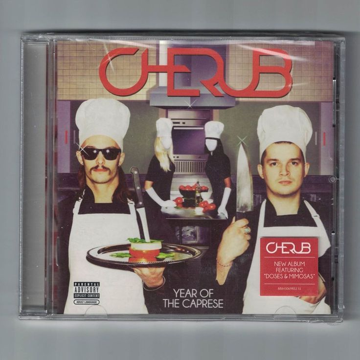 Cherub Year Of The Caprese Explicit CD NEW Sealed
