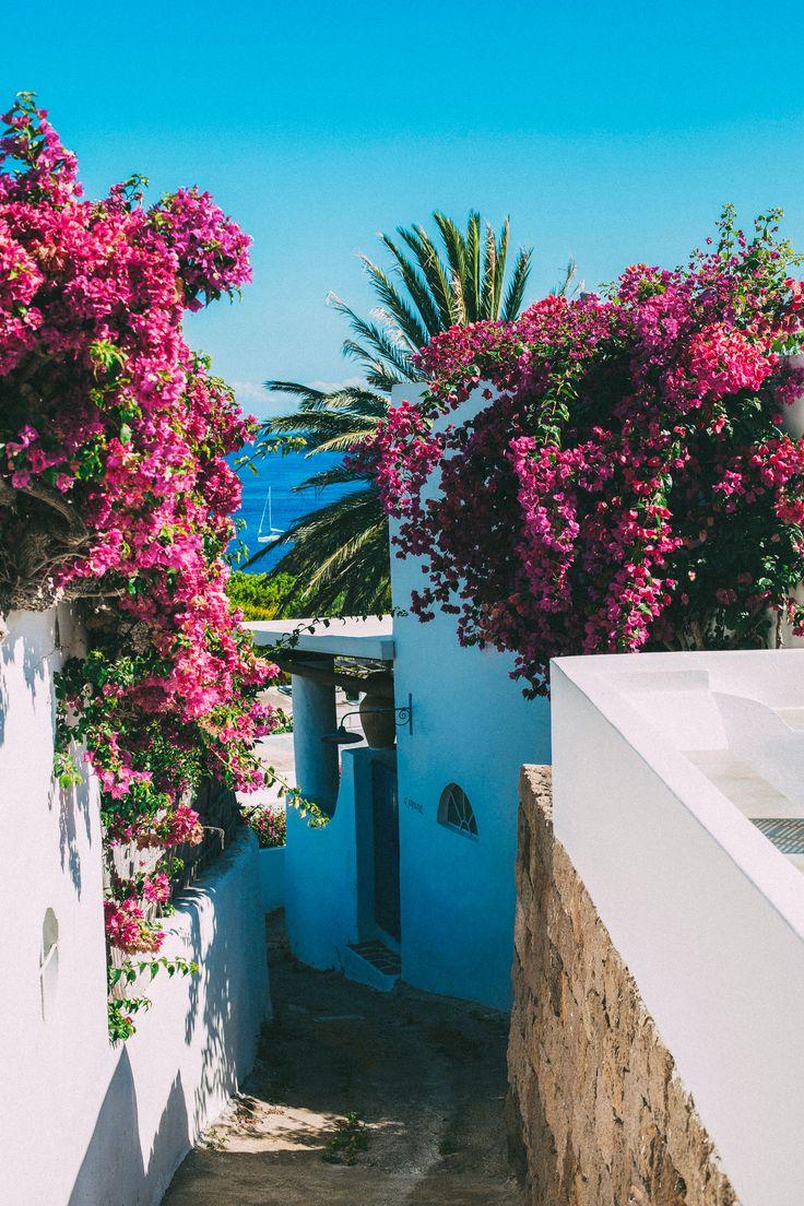 island of Panarea; part of the Aeolian islands in the Tyrrhenian Sea of the Mediterranean