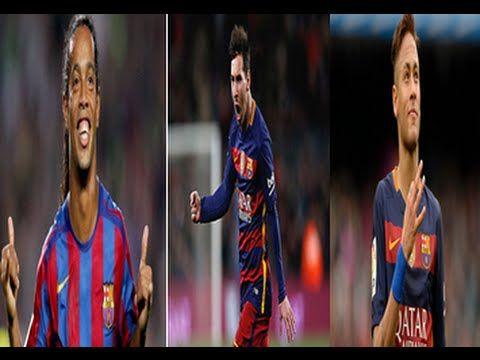 messi neymar ronaldino crazy skills goals 2016