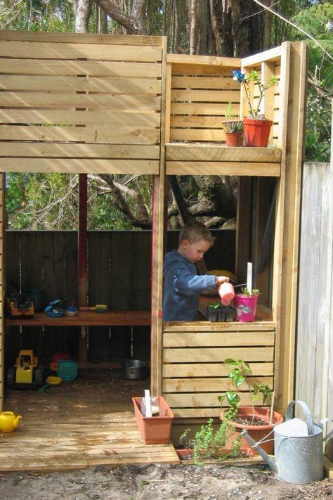 pallet playhouse   DIY Diy Playhouse Pallets Wooden PDF bird house plans cornell ...
