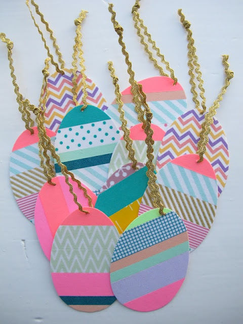 Washi Easter Tags / meuk is leuk blog