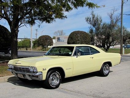 1965 Chevrolet Impala Super Sport Hardtop Coupe - Like my first car which I bought used for $50.00 in 1979