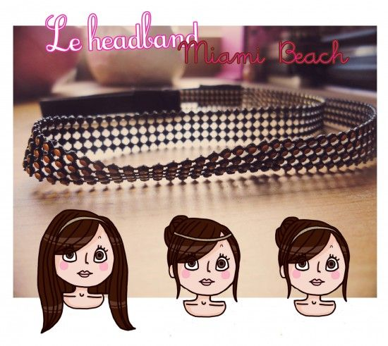 3 id es de coiffure original avec un headband se - Coiffure avec headband ...