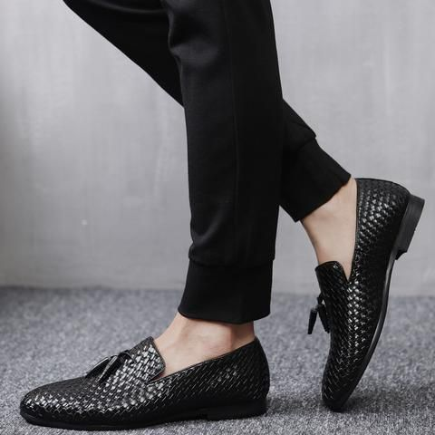 Oxford Slip On Shoes