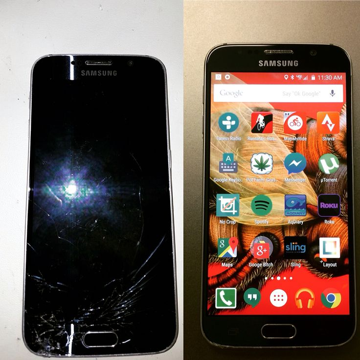cracked cell phone screen repair near me