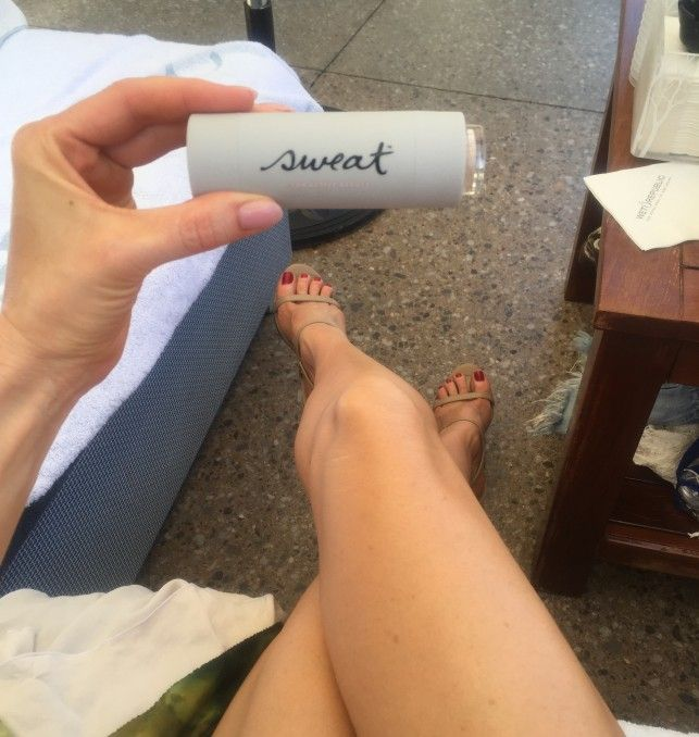 Sweat Cosmetics = sweat proof makeup that wont clog pores AND has built-in sunscreen Vegas Bachelorette Pool Party