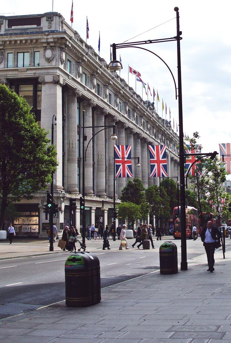 London, Selfridges
