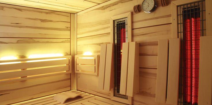 Die #Infrarot #Wärmekabine bietet mit ihrem Raumklima bei einer Temperatur um die 50°C eine gute Alternative für alle Freunde des eher milderen #Wärmebadens. http://www.teka-sauna.de/teka/teka-home/infrarot-warmekabinen