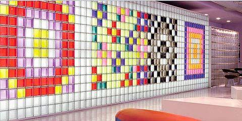 Paves decoraci n con paredes luminosas ahoram s for Decoracion con paves