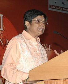 """Kiran Bedi is a social activist and the first female IPS officer from India in 1972. She took voluntarily retirement from the Indian Police Service in December 2007 from the post of Director General at the Bureau of Police Research and Development. She was the judge of the popular TV series named """"Aap Ki Kachehri"""", where she would solve the real-life disputes.  She received several awards including President's Gallantry Award from the President of India in 1979, Women of the Year Award from…"""