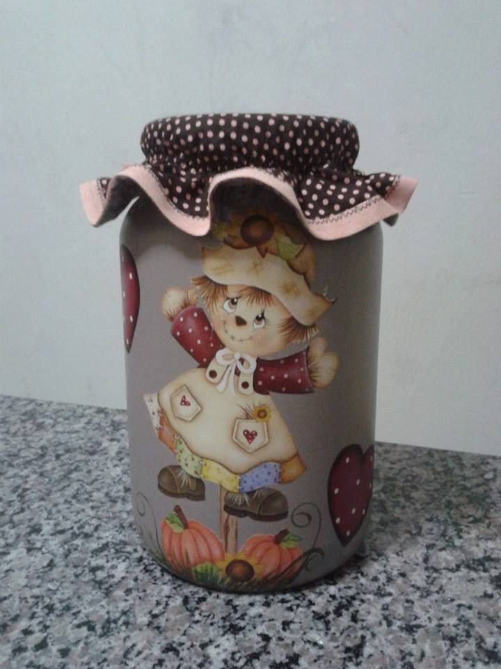 1509 best images about potes em biscuit on pinterest - Pintura para decoupage ...