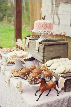 Horse Party Ideas for a Horse Pony Themed Birthday Party